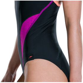 speedo Speedo Fit PowerMesh Pro Badedrakt Dame Svart